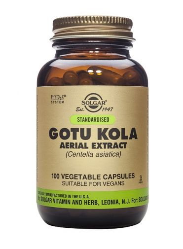 Solgar Gotu Kola Extract 100 Capsules