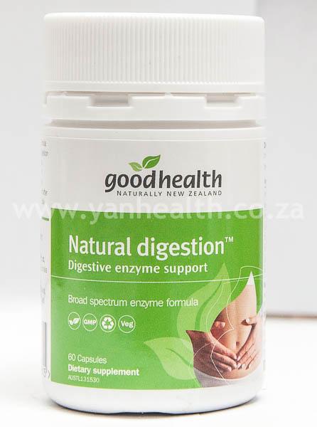 Goodhealth Natural Digestion 60 Capsules
