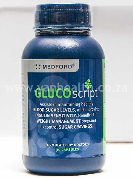 Medford GLUCOscript 90 Capsules