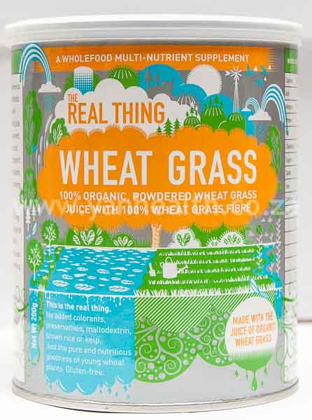 The Real Thing Wheat Grass  Powder 200g