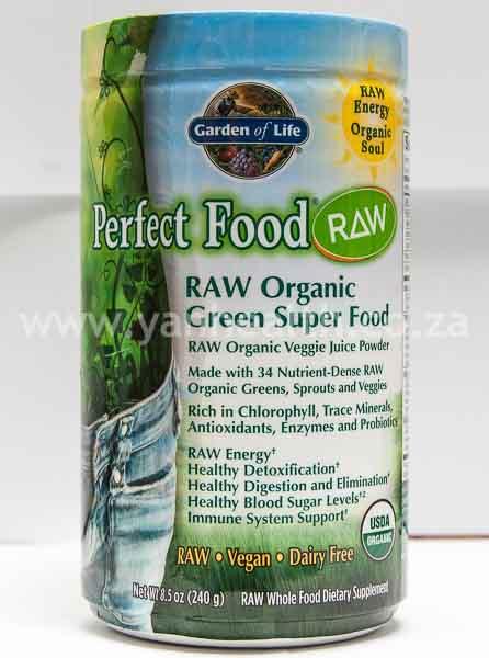 Garden of Life RAW Organic Green Super Food  Powder