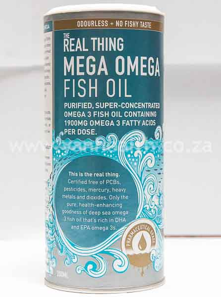The Real Thing Mega Omega Fish Oil  Oil 200ml