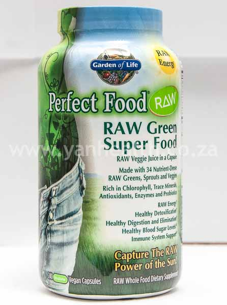 Garden of Life RAW Green Super Food 240 Capsules