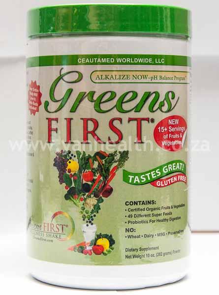 Green First  Powder