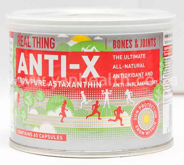 The Real Thing Anti-X 60 Capsules