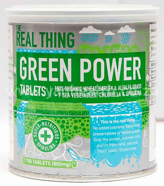The Real Thing Green Powder 150 Tablets