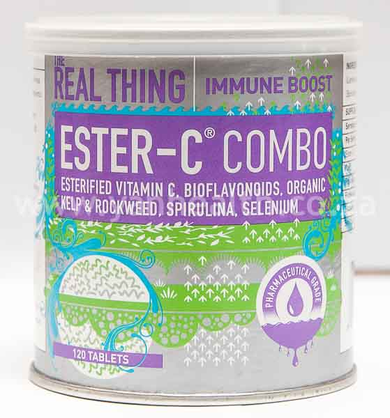 The Real Thing Ester-C Combo 120 Tablets
