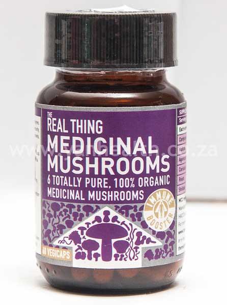 The Real Thing Medicinal Mushrooms 60 Capsules