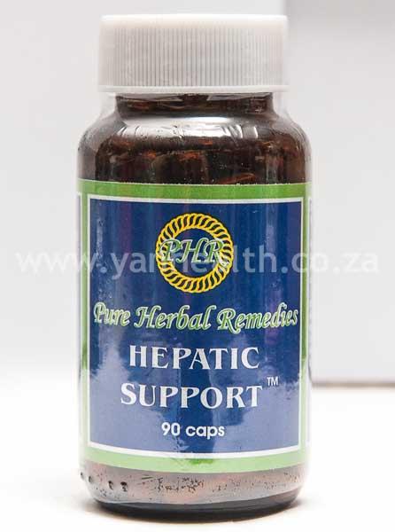Pure Herbal Remedies Hepatic Support 90 Capsules