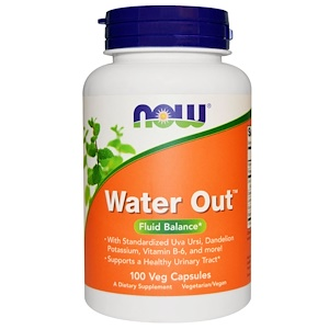 now Water Out Fluid Balance 100 Veg Capsules