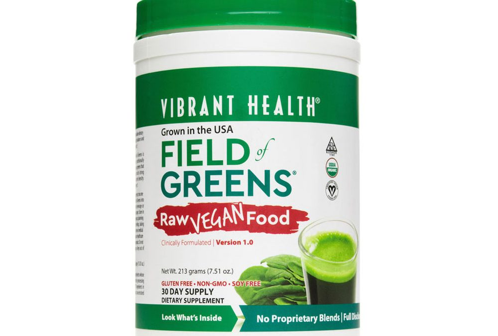 Vibrant Health Field of Greens Powder
