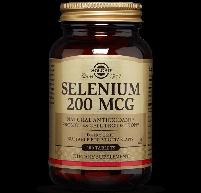Solgar Selenium 200 mcg 100 tablets