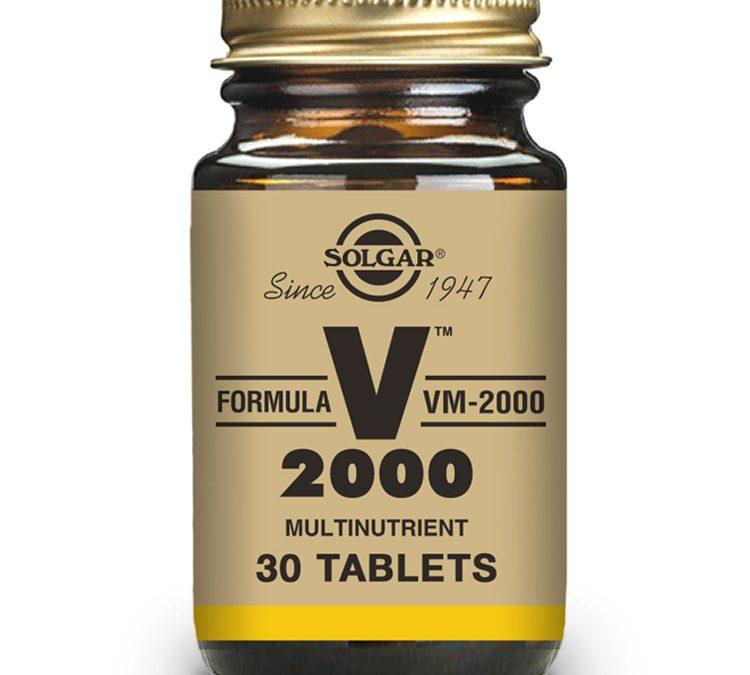 Solgar VM 2000 30 Tablets