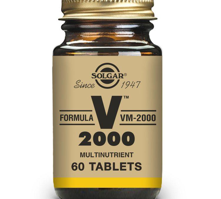Solgar VM 2000 60 Tablets