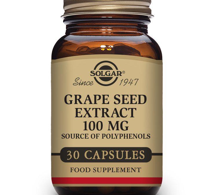 Solgar Grape Seed Extract 30 Capsules 100mg