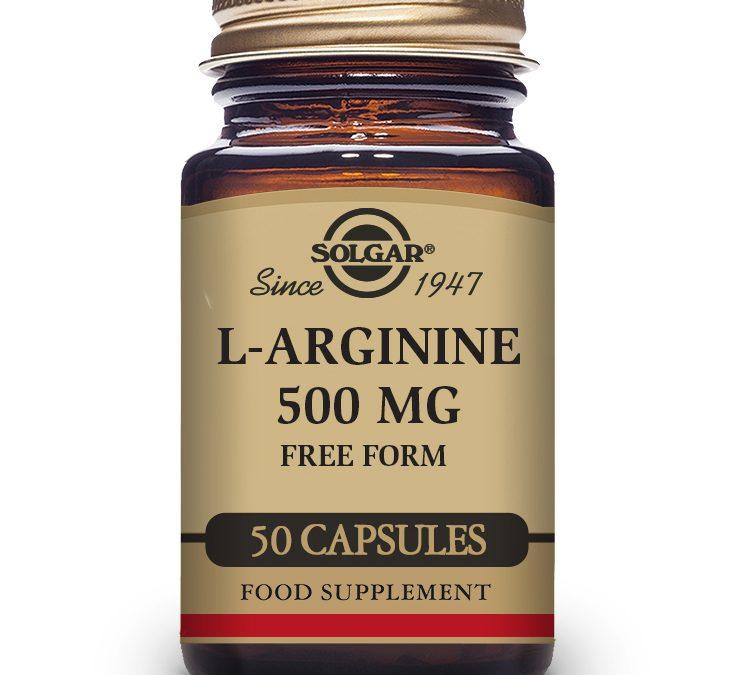 Solgar L-Arginine 50 Capsules 500 mg