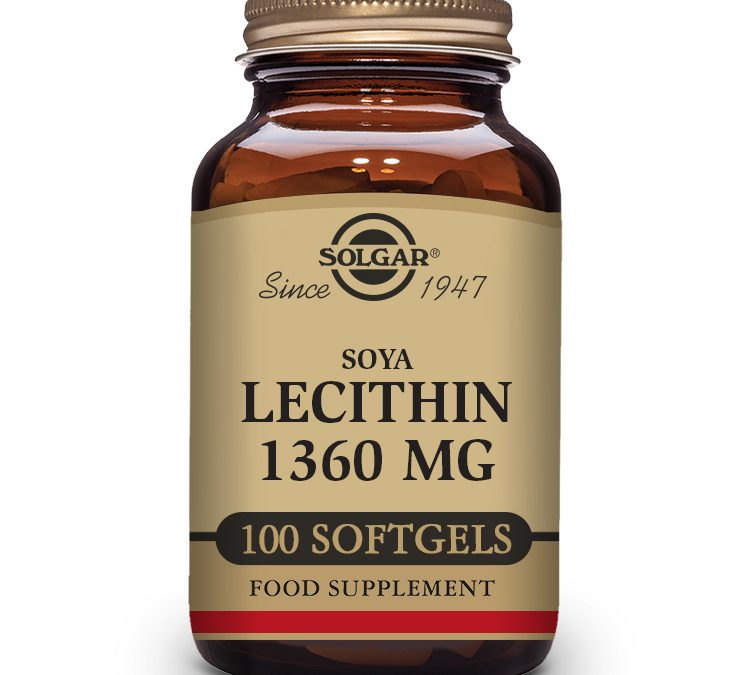 Solgar Lecithin 100 Softgels 1360 mg