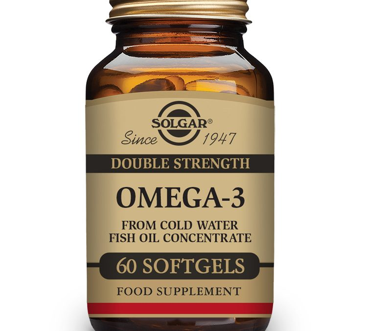 Solgar Omega-3 Double Strength 60 Softgels