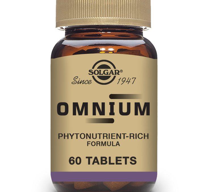 Solgar Omnium 60 Tablets