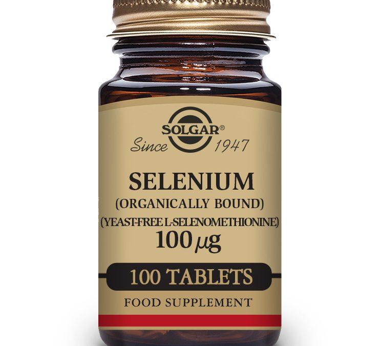 Solgar Selenium 100 Tablets 100 ug