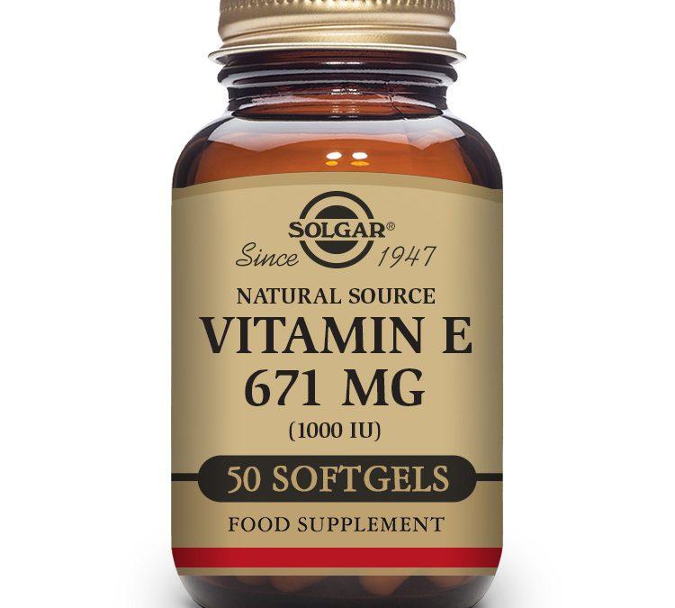 Solgar Vitamin E 50 Softgels 1000 iu