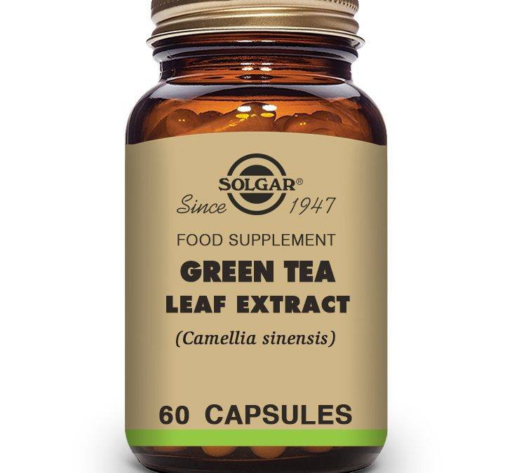 Solgar Green Tea Leaf Extract 60 Capsules