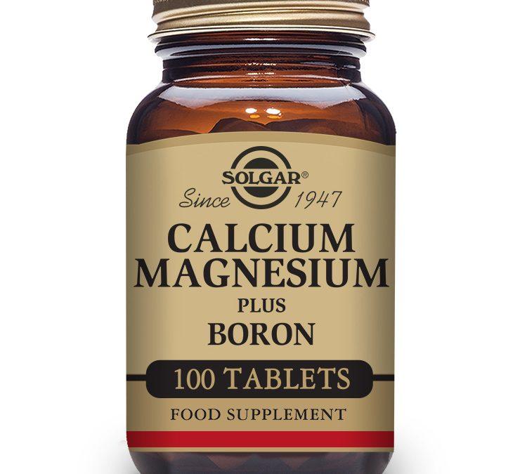 Solgar Calcium Magnesium Plus Boron 100 Tablets