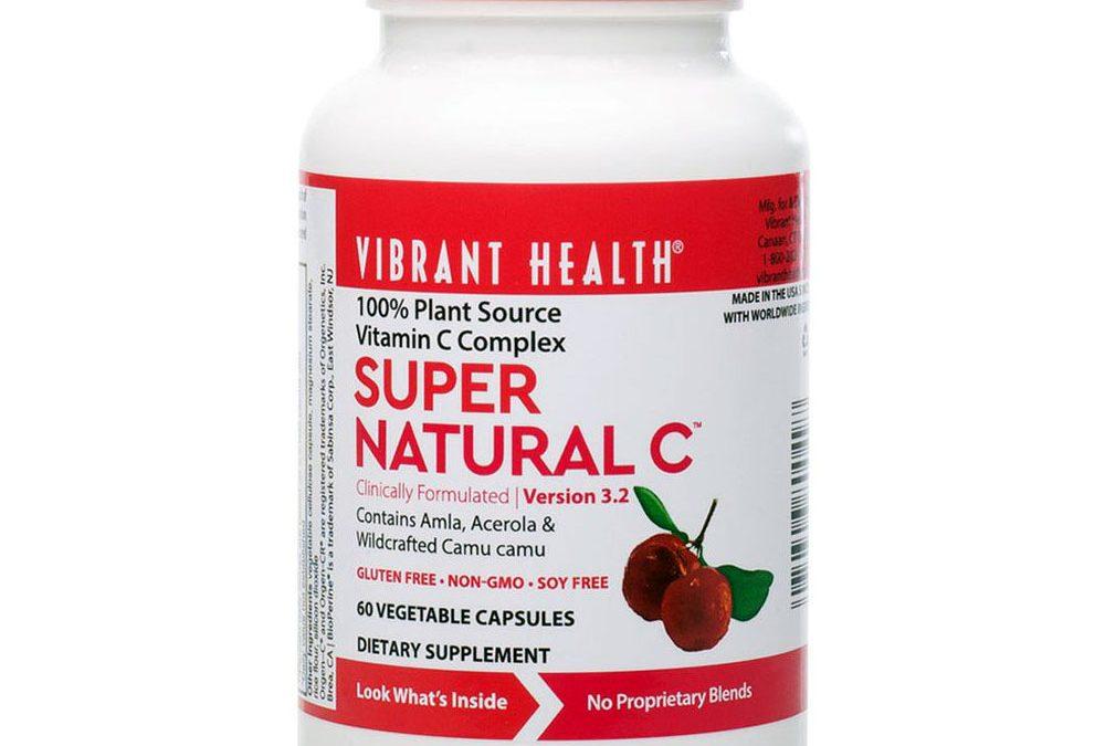 Vibrant Health Super Natural C 60 Capsules 250 mg