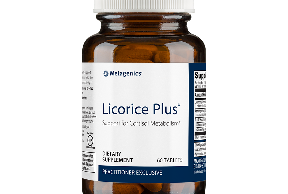 Metagenics Licorice Plus 60 tablets