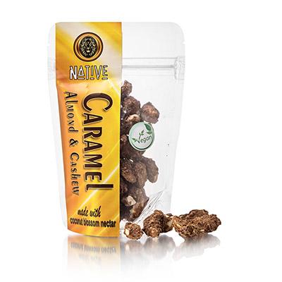 Native Caramel Almond & Cashew 80 g net