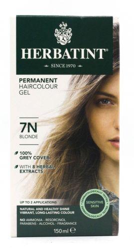 Herbatint permanent hair colour gel – 7N blonde 150ml