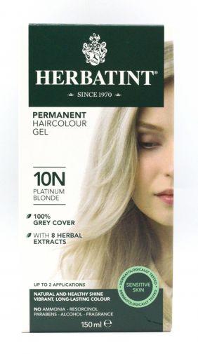 Herbatint permanent hair colour gel – 8N platinum blonde 150ml