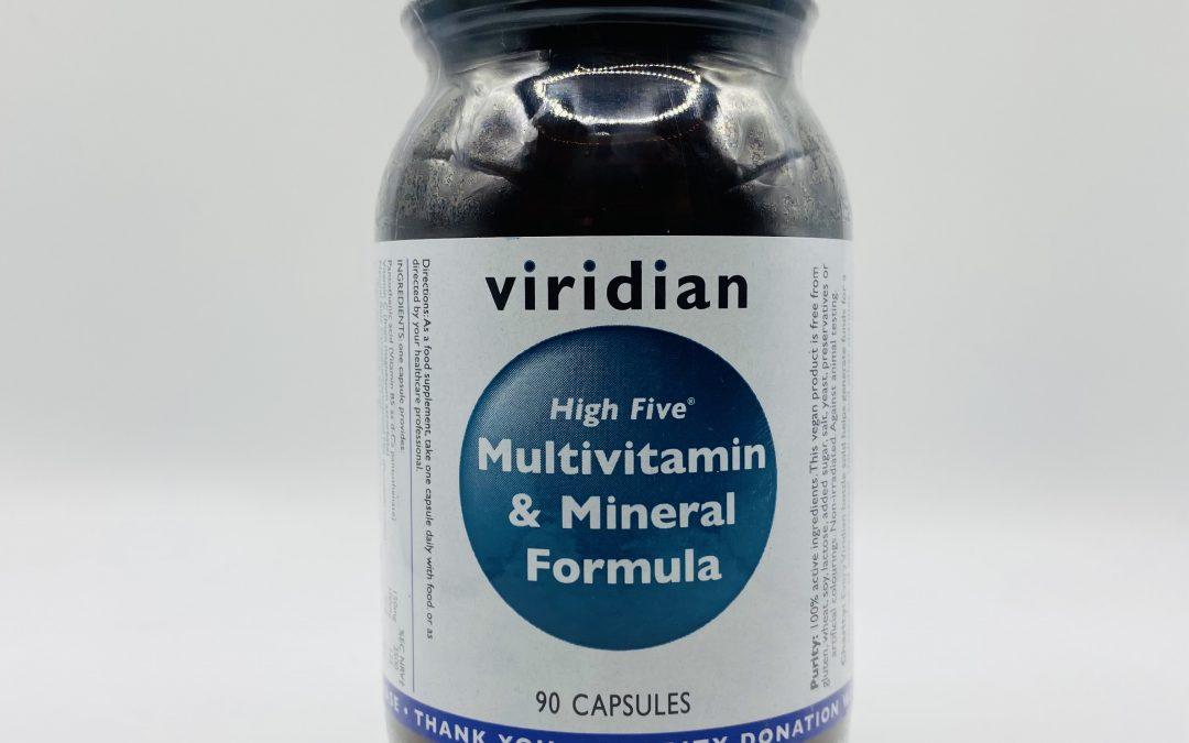 Viridian Multivitamin & Mineral 90 Capsules