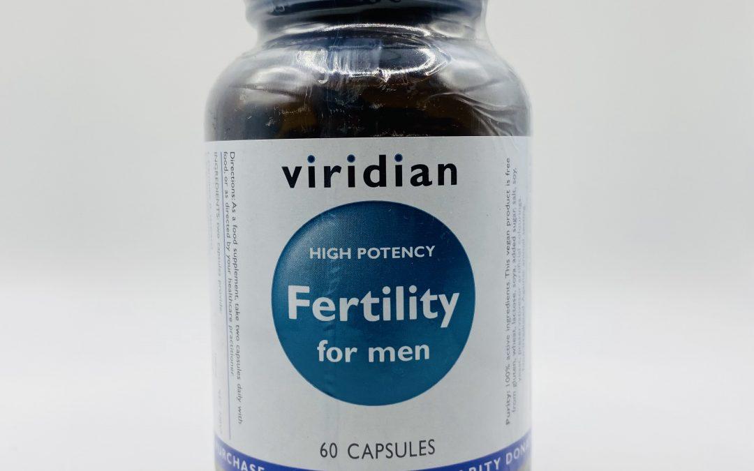 Viridian Fertility for Men 60 Capsules