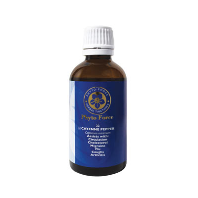 Phyto-Force Cayenne Pepper 50ml