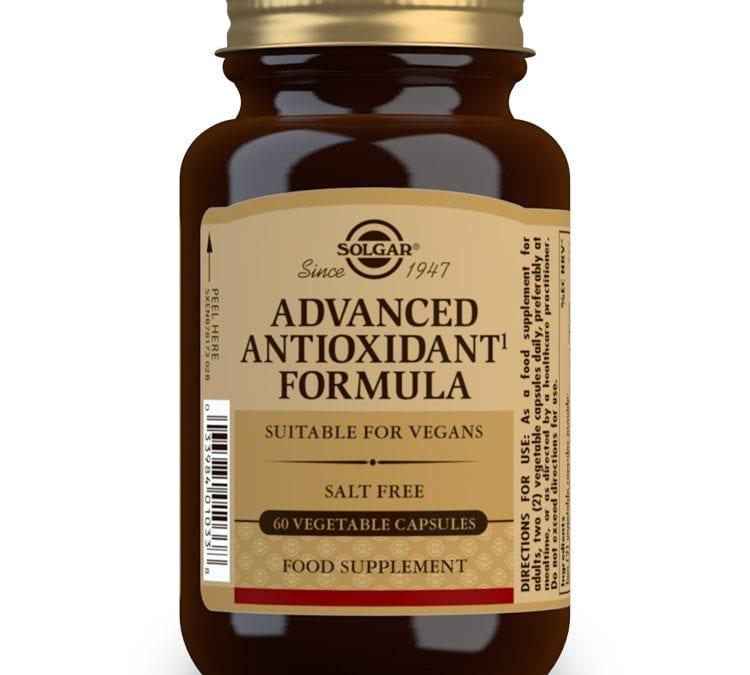 Solgar Advanced Antioxidant Formula 60 Capsules