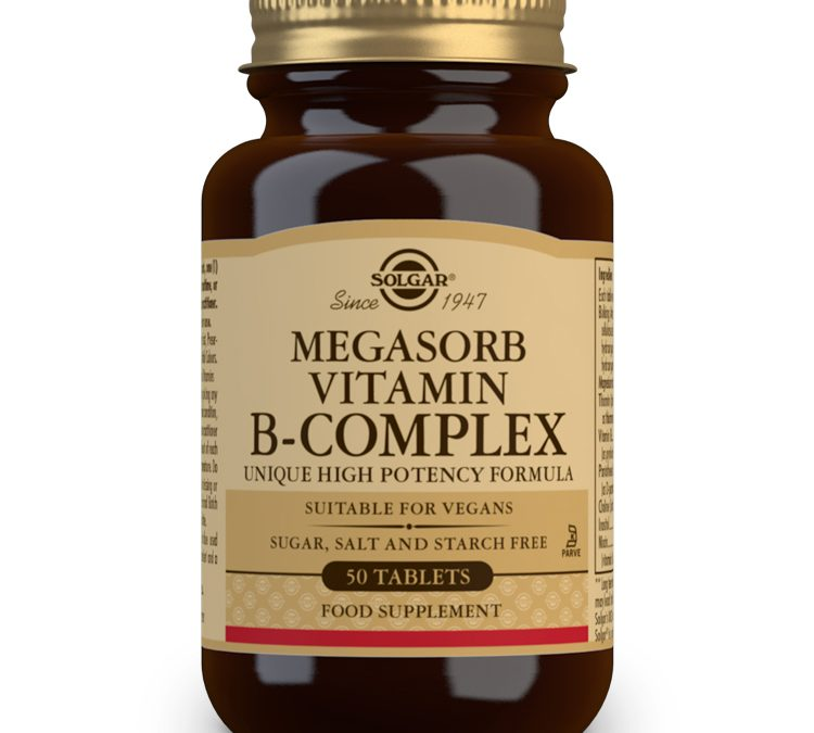 Solgar Megasorb Vitamin B-Complex 50 Tablets