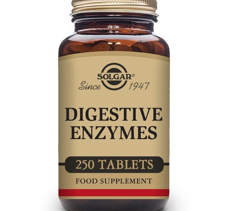 Solgar Digestive Enzymes 250 Tablets