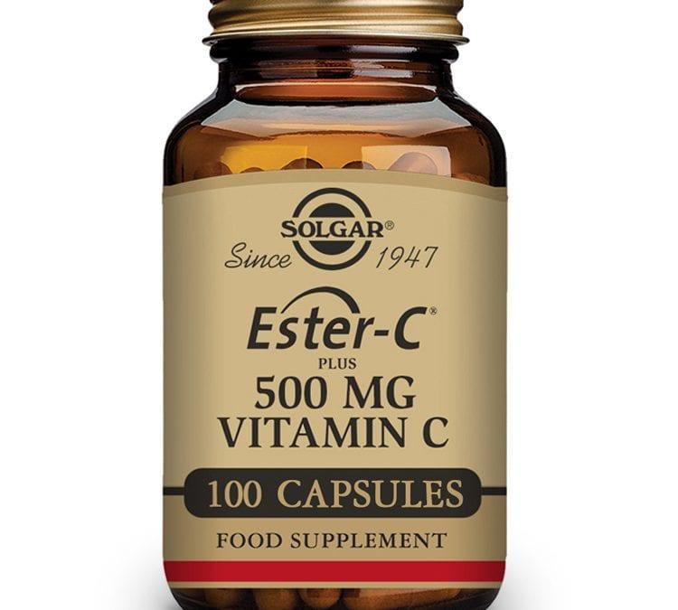 Solgar Ester-C Plus Vitamin C 100 Capsules 500 mg
