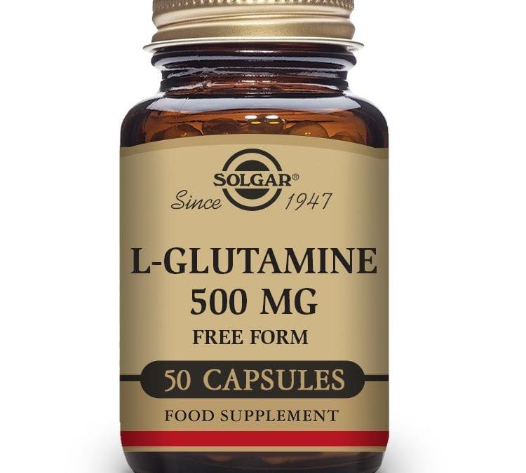 Solgar L-Glutamine 50 Capsules 500 mg