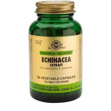 Solgar Echinacea Extract 60 Capsules