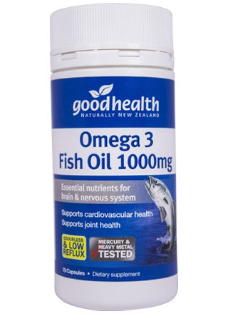 Goodhealth Omege 3 Fish Oil 70 Capsules