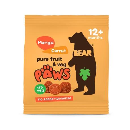 Bear Paws Mango Carrot 20g