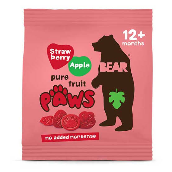 Bear Paws Strawberry Apple 20g