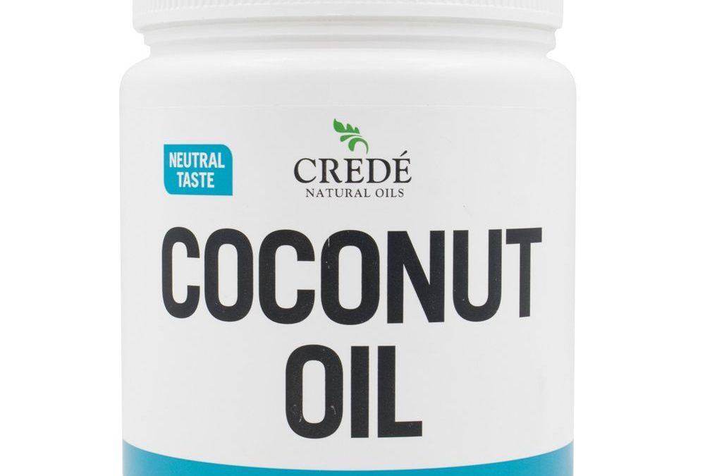 Credé Coconut Oil Cooking Oil Neutral taste 1litre