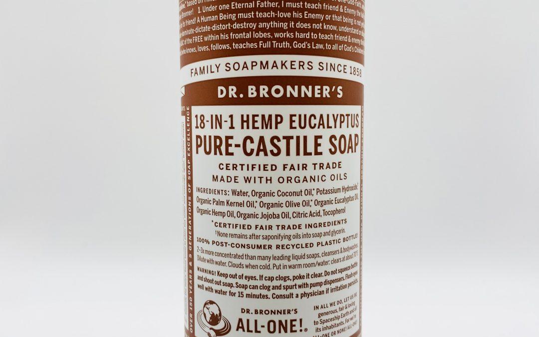 Dr. Bronner's Pure Castile Liquid Soap – Eucalyptus