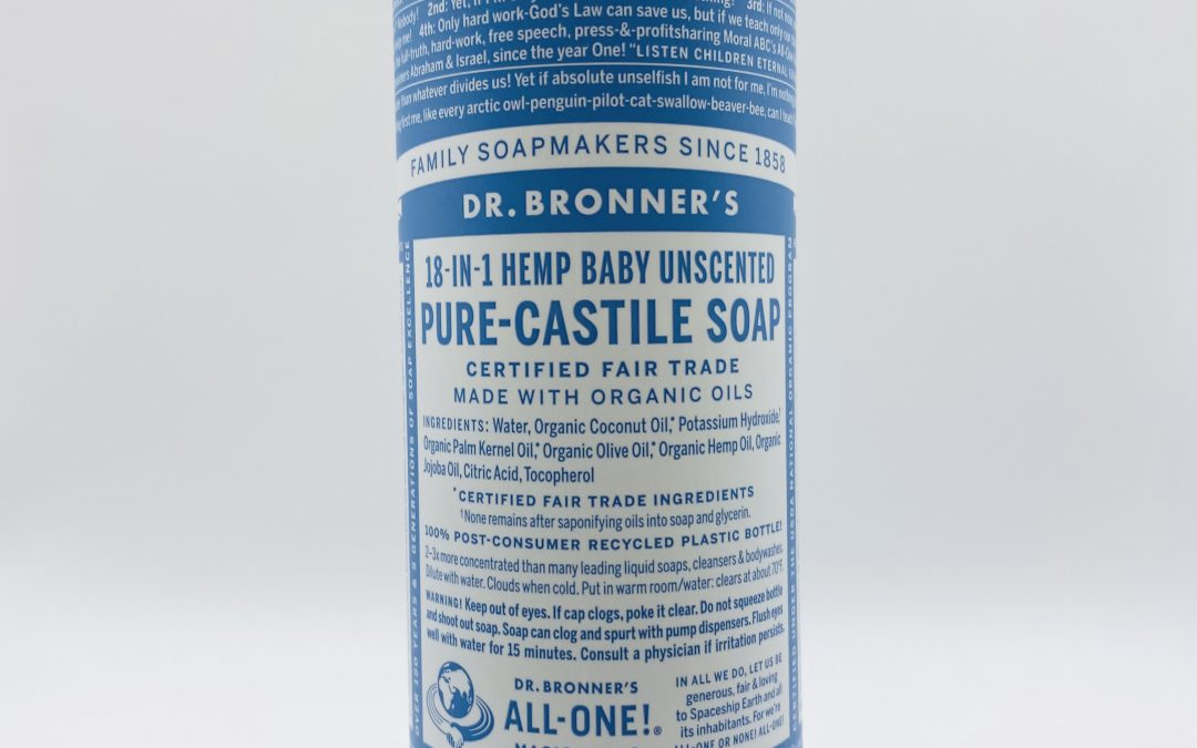 Dr. Bronner's Pure Castile Liquid Soap – Hemp Baby Unscented