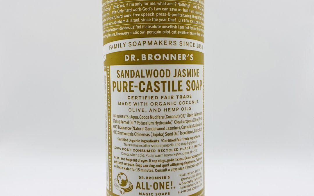 Dr. Bronner's Pure Castile Liquid Soap – Sandalwood Jasmine